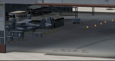 Bonn Air Force Edwards KEDW Photoreal FSX P3D  21