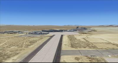 Edwards Air Force Base KEDW Photoreal FSX P3D 23