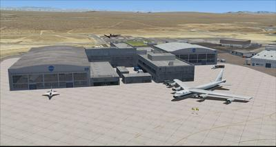 Edwards Air Force Base KEDW Photoreal FSX P3D 24