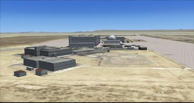 Edwards Air Force Base KEDW Photoreal FSX P3D 25