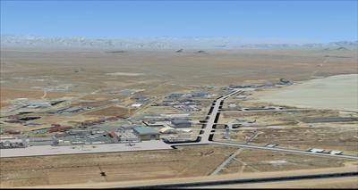 Edwards Air Force Base KEDW Photoreal FSX P3D 3