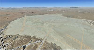 Edwards Air Force Base KEDW Photoreal FSX P3D 5