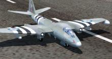 English Electric Canberra B 57B FSX P3D  1