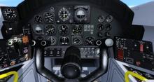 English Electric Canberra B 57B FSX P3D 16