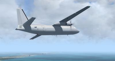 Lelapa la Fokker 27 FSX P3D  11