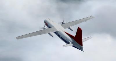 Lelapa la Fokker 27 FSX P3D  12
