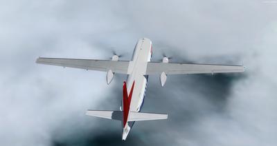Lelapa la Fokker 27 FSX P3D  13