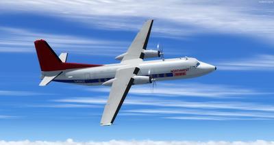 Lelapa la Fokker 27 FSX P3D  14