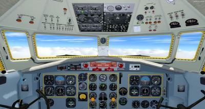 Lelapa la Fokker 27 FSX P3D  16