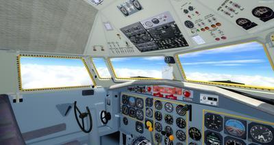 Lelapa la Fokker 27 FSX P3D  17
