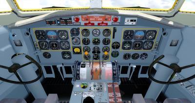 Lelapa la Fokker 27 FSX P3D  18