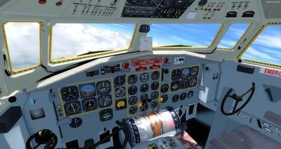 Lelapa la Fokker 27 FSX P3D  2