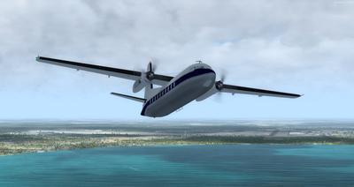Lelapa la Fokker 27 FSX P3D  6