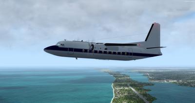 Lelapa la Fokker 27 FSX P3D  7