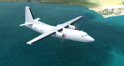 Lelapa la Fokker 27 FSX P3D  9