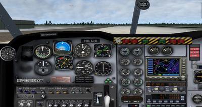 GAF Nomad 22B FSX P3D  15