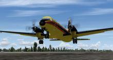 Хокер Сидели HS.748 FSX P3D  12