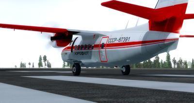 LET L 410 Turbolet FSX P3D  5