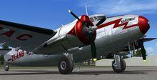 Lockheed Lodestar L 18 C 57 C 60A FSX P3D  8