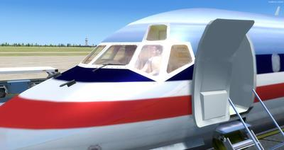 McDonnell Douglas MD Serie 80 Multi Livery FSX P3D  16