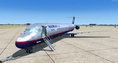 McDonnell Douglas MD Serie 80 Multi Livery FSX P3D  4