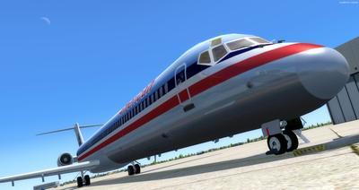 McDonnell Douglas MD Serie 80 Multi Livery FSX P3D  7