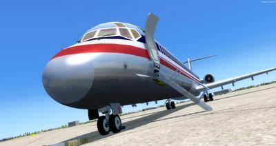 McDonnell Douglas MD Serie 80 Multi Livery FSX P3D  8