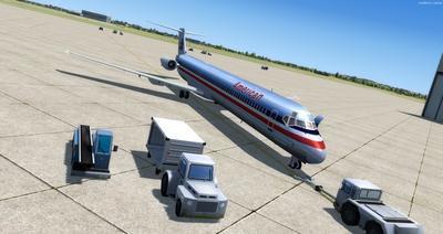 McDonnell Douglas MD Serie 80 Multi Livery FSX P3D  9
