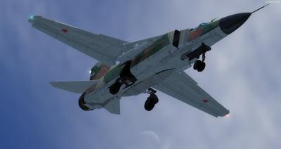 MiG 23 Flogger FSX P3D 1