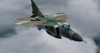 MiG 23 Flogger FSX P3D  8