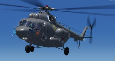 Mil Mi 171 Russian Force Force FSX P3D  12