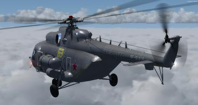 Mil Mi 171 Russian Air Force FSX P3D 13