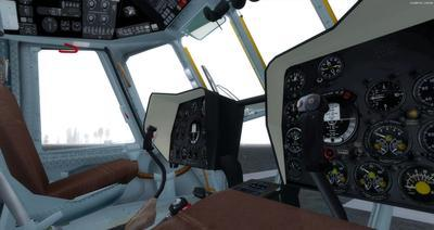 Mil Mi 171 Russian Force Force FSX P3D  4