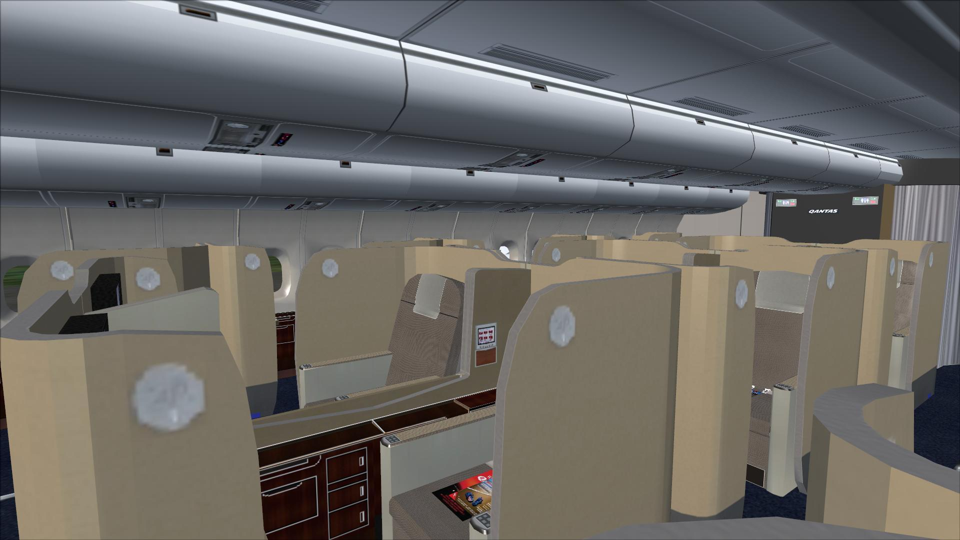 Qantas Cabin 01