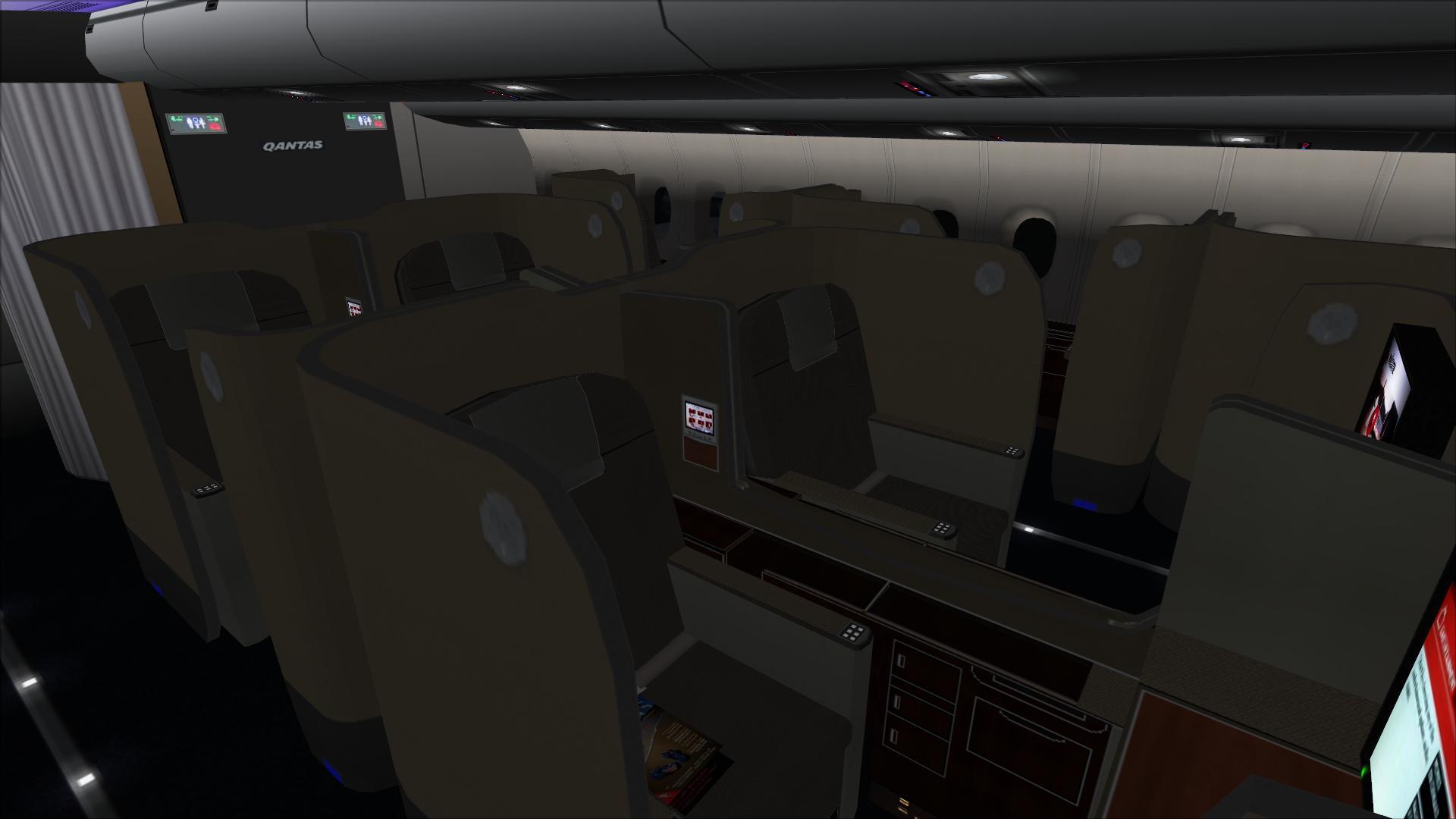 Qantas Cabin 05