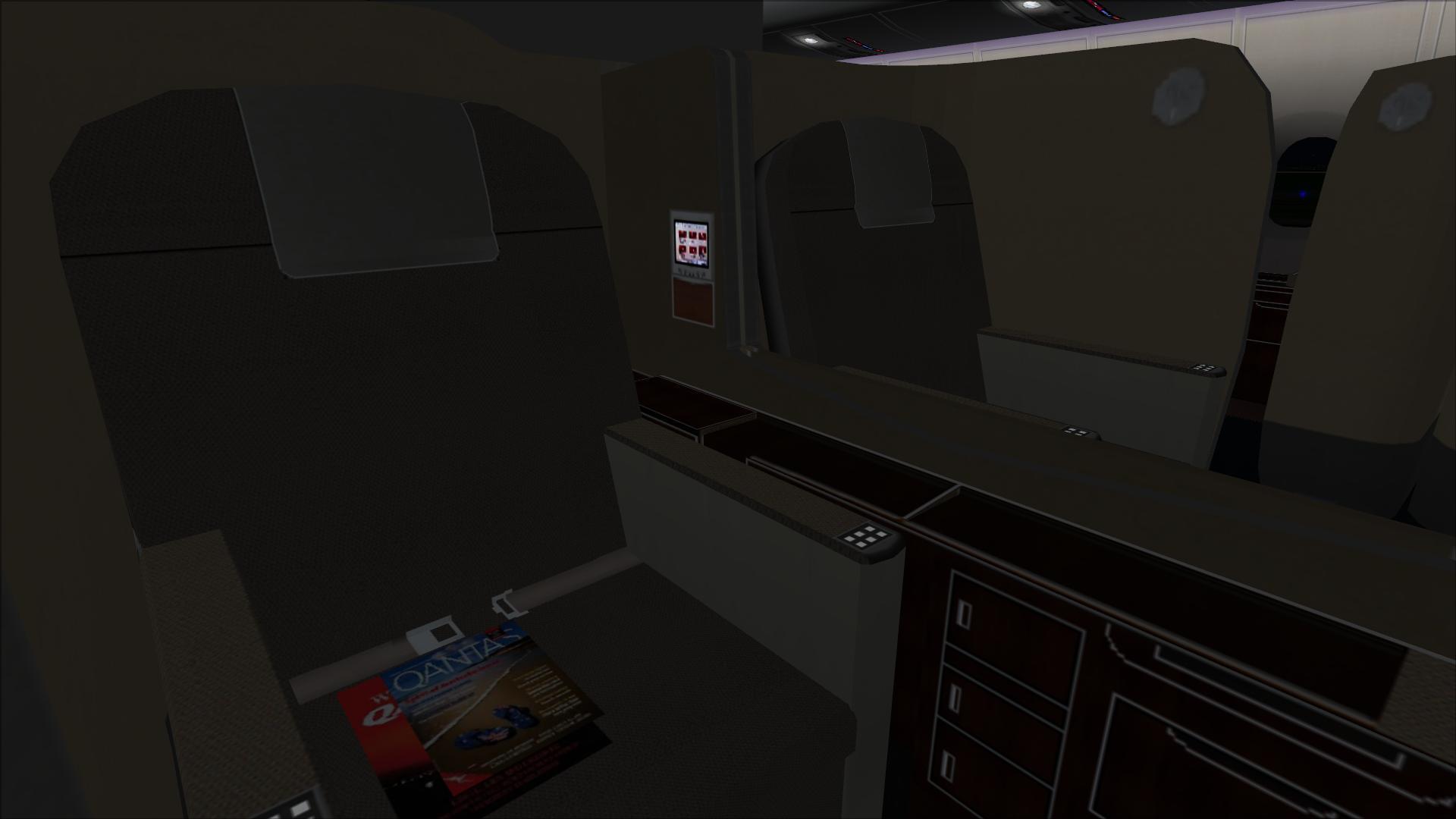 Qantas Cabin 06