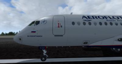 Sukhoi SuperJet SSJ 100 FSX P3D  6