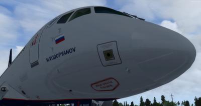 Sukhoi SuperJet SSJ 100 FSX P3D  9