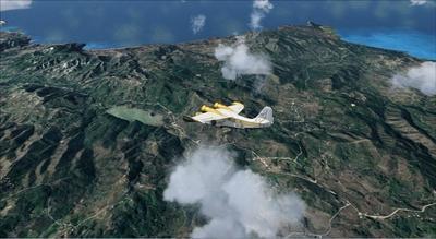 Fotorealistické pobrežie Sýrie FSX P3D  22