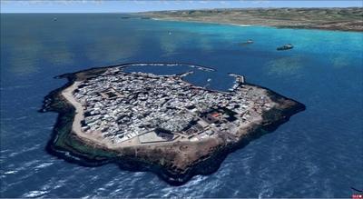 Bờ biển Syria FSX P3D  4