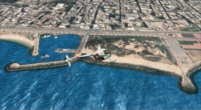 Fotorealistické pobrežie Sýrie FSX P3D  9