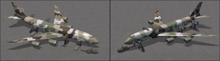 ಬೋಯಿಂಗ್ 747 8i AAF Camo 7