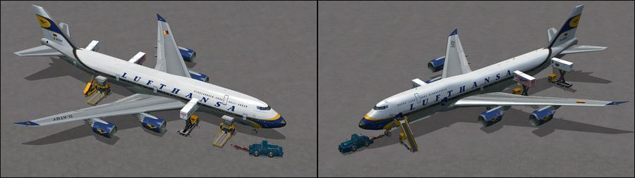 Boeing 747 8i Lufthansa 7