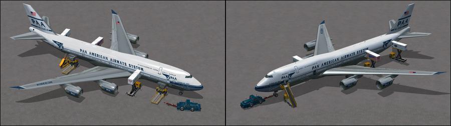 Boeing 747 8i PanAm 7