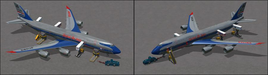ಬೋಯಿಂಗ್ 747 8i ಯುನೈಟೆಡ್ 7