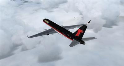 보잉 757 도널드 트럼프 FSX P3D  10
