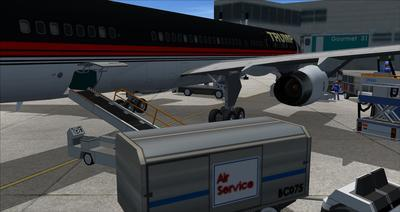 Boeing 757 200 Donald Trump FSX P3D  12