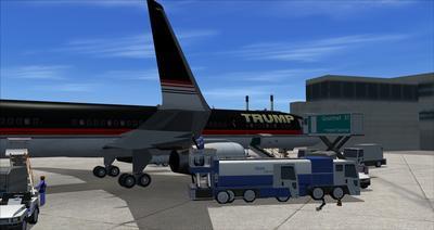 Boeing 757 200 Donald Trump FSX P3D  13