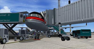 보잉 757 도널드 트럼프 FSX P3D  16