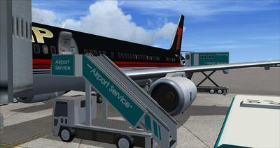 Boeing 757 200 Donald Trump FSX P3D  17
